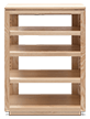 Audio Rack Solid Wood