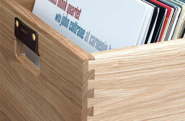 Oak Dovetail Detail