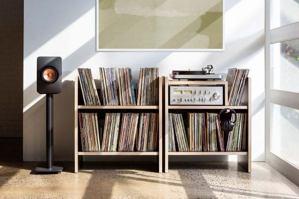 MAX Turntable Record Stand Window